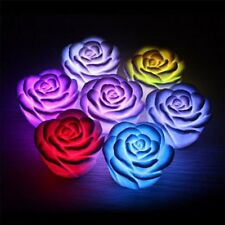 Romantic Rose Flower Night Light Color changed Lamp LED Night Lights Interior