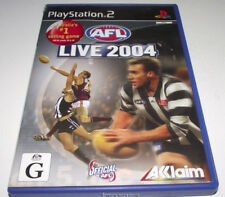 AFL Live 2004 PS2 PAL *Complete*