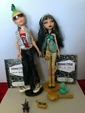 Monster High Cleo De Nile and Deuce Gorgon 1st wave With all Accessories VHTF.