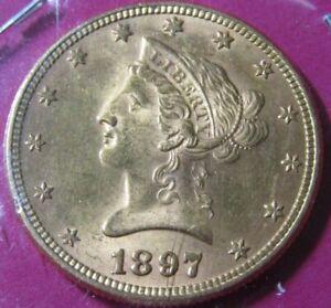 1897-P $10 American Gold Liberty Head Eagle - Choice Uncirculated