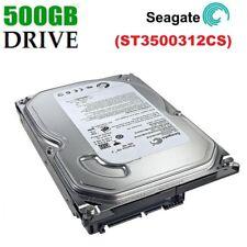 "Seagate 500GB SATA 3.5"" INTERNO PC DESKTOP HDD Hard Disk Drive MAC CCTV DVR PVR"