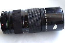 Canon Zoom Fd 80-210mm f4 for mirrorless cameras Japan