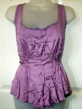 NEW FIRE TRAP LILAC CAMISOLE STYLE TOP RRP £35 SIZE XL 14/16 # 526