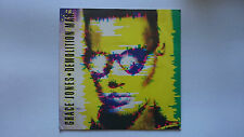 "Grace Jones 7"" Demolition Man/Warm Leatherette 1981 Unplayed."