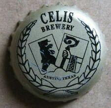 CELIS BREWERY AUSTIN TEXAS NO DENTS MICRO CRAFT BEER BOTTLE CAP