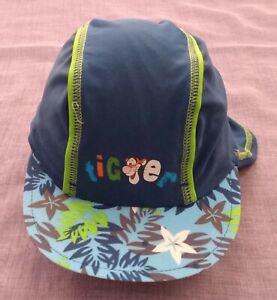 DISNEY BABY Tigger UVP 40+ Legionnaire Style Sun Hat - Age 6-23 Months NEW