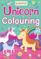 ** UNICORN BUMPER COLOURING BOOK OVER 45 PAGES NEW GIRLS PARTY ** KIDS CRAFT
