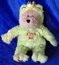 Starbucks Coffee Company 2004 Bearista Bear Stuffed Plush Kiss Me Frog Costume