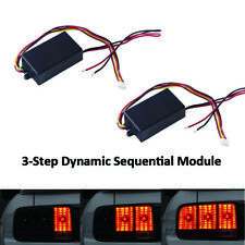 Fits Turn Signal Light Universal 3 Step Sequential Dynamic Blinking Module Boxes