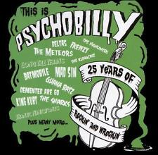 """VA """"This Is Psychobilly: 25 Years of Rockin' and Wreckin'"""" [2009 3CDs - Like New"""