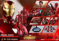 Hot Toys Iron Man Mark L Infinity War Avengers Diecast 1/6 Figure In Stock