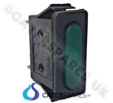 LINCAT ne34 rectangulaire à clipser 30mm x 11mm Néon Vert Indicateur LAMPES 230V