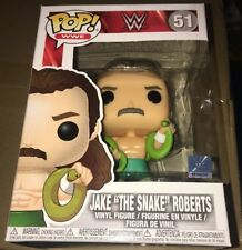 WWE Jake the Snake Roberts Pop! Vinyl Figure #51 WWF - IN STOCK!!!