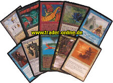 Rare Pack-oro alemán - 10 original raro Magic libro de mapas Lot