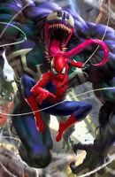 🔥🕷🕸 NON-STOP SPIDER-MAN #1 DERRICK CHEW 616 Virgin Variant LTD 1000 NM
