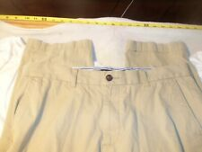 Tommy Hilfiger Tailored fit cotton no cuffs 36 x 33 #315