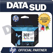CARTUCCIA HP 302 ORIGINALE TRI-COLORE INK-JET PER HP OFFICEJET 3830 ALL..