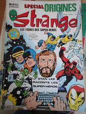STRANGE SPECIAL ORIGINES N° 169 BIS HS - JANVIER 1984 - INTERIEUR NICKEL