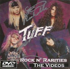 "TUFF ""Rock N' Rarities"" DVD signed Stevie Rachelle Todd Chase Hairbands Glam 80s"