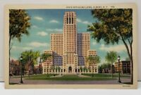 Albany New York State Office Building  Postcard B19