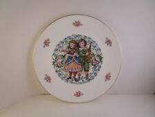 Vintage Royal Doulton Bone China England Collector Plate Valentine's Day 1981