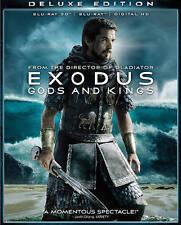 Exodus: Gods and Kings (2D/3D Blu-ray + Digital HD, 2015) w/slip, NEW!