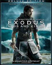 3D Exodus: Gods and Kings 3D (Blu-ray Disc, 2015, Christian Bale)