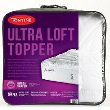 1000GSM TONTINE Luxury Ultra Loft Pillowtop Mattress Topper KING Size Bed NEW