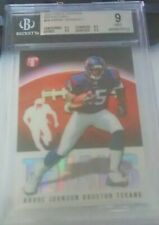 2003 TOPPS PRISTINE RC REFRACTOR ANDRE JOHNSON RC BGS 9 #/1499