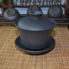 Dark Brown * Pure Yixing Gaiwan Zisha Clay Chinese Handmade Gongfu Tea 100ml