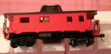 Vintage Ho Scale Red Caboose Hand Painted Model Trains B5R