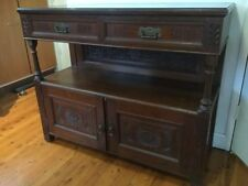 Wooden Edwardian Antique Cabinets & Cupboards