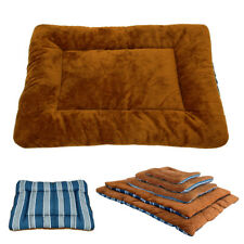 Warm Fleece Pet Dog Beds Large Sleeping Pad Mat Soft for Kennel Crate Cage XS-XL