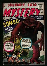 Marvel Comics VG- 3.5 PRE THOR #60 Journey into mystery BOMBU WITCH MAN