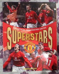 The Official Manchester United Superstars Book 2002 Man Utd