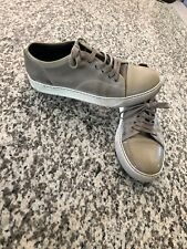 shoes man pre-owned lanvin beige size 9