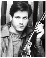 MICHAEL PARE great 8x10 character still with gun STREETS OF FIRE -- c755