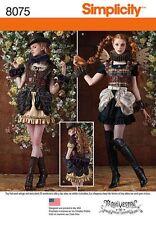 Simplicity Pattern 8075 Misses' Costumes Fantasy Steampunk Sizes 14 thru 22