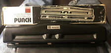 Acco 2 3 Hole Fully Adjustable Punch Model 2074020 932 Holes In Box