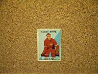 1958-59 Topps Hockey #8 Gordie Howe (Detroit Red Wings)