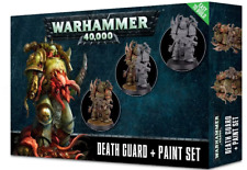 WARHAMMER 40,000 40K DEATH GUARD + PAINT SET FACTORY SEALED NEW
