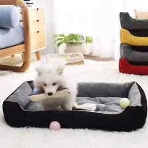 Royal Animals Super Soft Sofa Dog Beds Waterproof Bottom Soft Fleece Warm Bed Fo