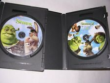 DVDs Shrek 1 & 2 Dream Works Home Entertainment M. Myers E. Murphy Diaz Lithgow
