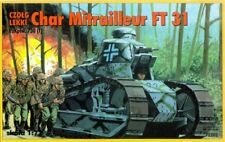 RENAULT FT- 31/PZ.KPFW 730 (f) (FRENCH & GERMAN MKGS) 1/72 RPM (ULTIMATE FT-17)