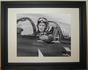Ted Williams World War II Pilot Plane WWII Boston Red Sox Framed Photo Picture