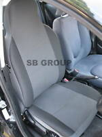 TO FIT A PEUGEOT 107, CAR SEAT COVERS, ANTHRACITE GREY