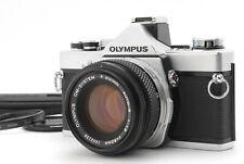 【Mint】Olympus OM-1N + F.Zuiko 50mm F1.8  35mm SLR Film Camera  From Japan A402