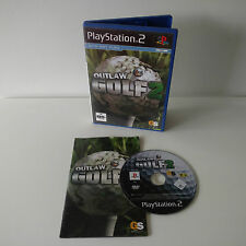 Outlaw Golf 2 PS2 PlayStation 2 PAL Complete VGC Aus Seller + FREE POST