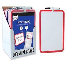 A4 Whiteboard Pen Dry Wipe Clean White Board Kids Home Office - UK Stockist