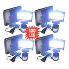 Waterproof 3/22/60/100 LED Solar Power Sensor Light Security Motion Garden Lamp